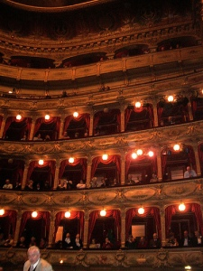 Intérieur Opéra de Nica