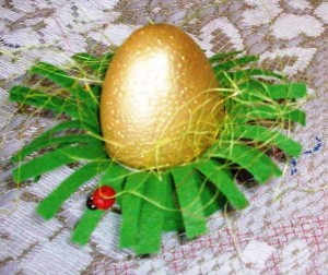 Coquetier de Pâques