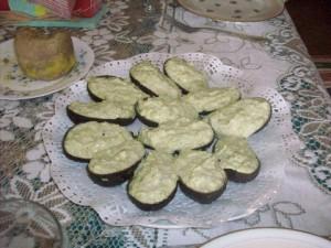 Avocats crabe